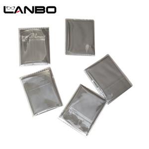 Lanbo Independent Packaging 15x15cm 렌즈 옷 깨끗한 천으로 마이크로 화이버 선글라스 안경 카메라 안경 Duster Wipes Grey 201021
