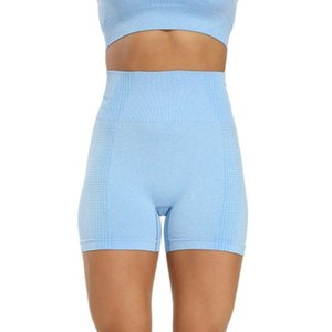 Women leisure sports yoga slimming suit shorts workout leggings Skinny Female Push Up Gym Clothing Solid Color Elastic Breathabl