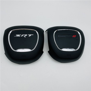 Car Accessories For Dodge Charger SRT 2015-2020 Steering Wheel Horn Cover Cap With Emblem