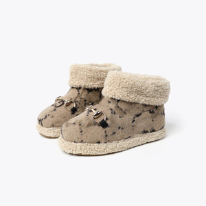 2020 Sıcak Çocuk Ayakkabı Klasik Tasarım Erkek Ve Kızlar De Luxe Sneakers Tuval Nefes Yüksek Üst Sneakers Çocuklar Sneakers Bebek Kız Tasarım