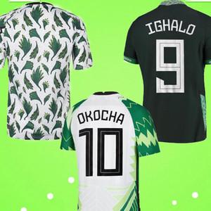 2020 Nigeria Domicile Extérieur Maillot de football 20 21 Équipe nationale Nigeria Football kit de football tops de football maillots de football