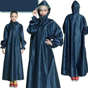 Womens Raincoat Adult Size Long Cover Camping Suit Rain Coat Windbreaker Poncho Windbreaker Women Rain Coat Girls Mens 3DYY032 201202