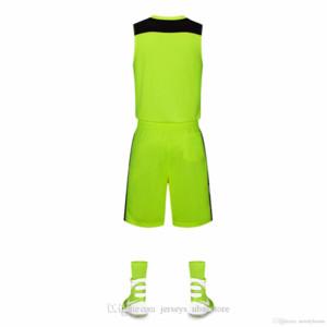 Toptan Özelleştirilmiş Erkekler Basketbol Üniformaları, Erkek Kitleri Spor Giyim Eşofmanlar İndirim Ucuz Erkek Basketbol Setleri Kısa Setleri A8-41