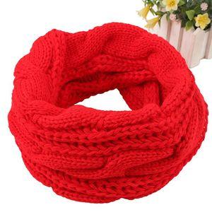 Fashion Men Woman Winter Scarf Ring Women Knitted Scarves For Men Neck Shawl Snood Warp Collar Warm Male Soft Fleece Scarves