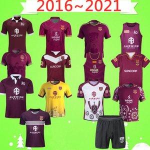 2016 2018 2019 2020 2021 Maru RUGBY LEAGUE JERSEY version shorts retro classic Hero Vintage souvenir Edition Nine training wear suit T-shirt
