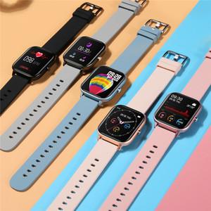 IP67 P8 Smart Erst watch for Watches Wristband Mens Women Sport Clock Heart Rate Monitor Sleep Monitor Designer Smartwatch tracker