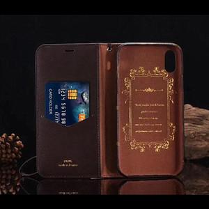 Nueva Moda Funda telefónica para iPhone 12 12PRO MAX XS XR XSMAX Tapa de cuero Tapa de cuero Tarjeta de bolsillo Tapa del teléfono para iPhone 11 Pro Max