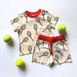 ZMHYAOKE-MR SUMMER Toddler Girl Clothes First Christmas Boy Clothes Beach Kids Sets Thanksgiving Girls Christmas Outfit Y200831