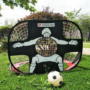 Football Gate Children Football Gate Portable Soccer Door Football Gate Foldable Practice Target Training goal Two-purpose