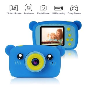 Children Mini Camera 1080P Kids Digital Video Photo Camara Fotos Infantil 2 Inch Screen Baby Kinder Child Toys Photo Camcorder 201214