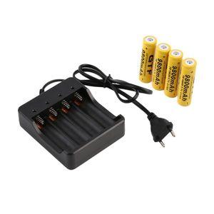 18650 Зарядное устройство батареи 4 слоты AC 110V 220V 4,2V Smart Четыре зарядки для литий-ионов аккумуляторные батареи фонарик