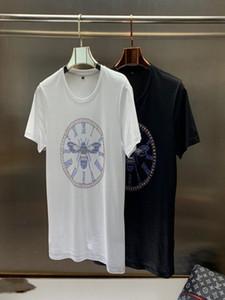 2020 designer T-shirt Christian fashion men's casual T-shirt men's Paris French Street shorts sleeve garment T-shirt 20s Asian size