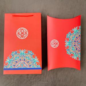 Outlet High End Seide Verpackung Geschenk Schal World Box R