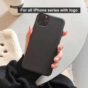 Have Logo iphone 12 case soft tpu matte phone case fit size 13 colors designer phone case with opp bag