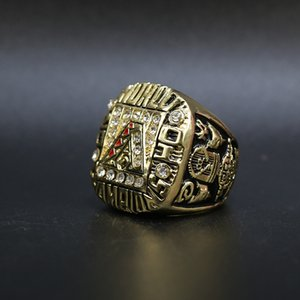 NEW 2001 Arizona Rattlesnake championship ring Newest Men Wholesale fashion sports Ring jewelry souvenir wholesale