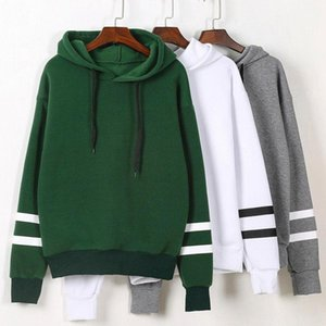 New Spring Autumn Womens Long Sleeve Hooded Sweatshirt Loose Casual Warm Hoodies Sweatshirts 4 Colors Female Jumper Tracksuits