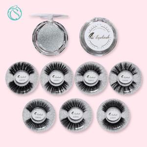 50pairs Mink Eyelash Wholesale Fluffy Lash Free Custom Private Label False Eyelashes Natural False Eyelashes Wispy Lashes Makeup