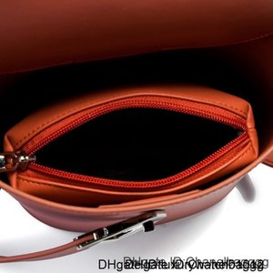 Lovely Bucket Woman 2019 Genuine Leather Handbag Famous Design Single Shoulder Package