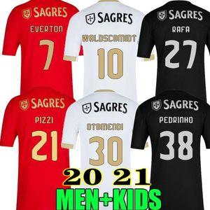 NOUVEAU 2020 2021 SL Benfica PIZZI SOCCER JERSEYS 20 21 WALDSCHMIDT SEFEROVIC TODIBO VERTONGHEN RAFA A.ALMEIDA MEN CHEMISE DE FOOTBALL