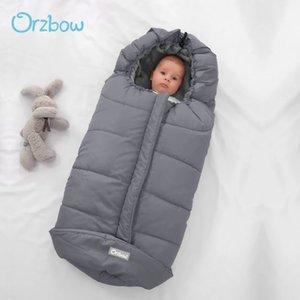 Orzbow 0-36m Bébé Sac de couchage Poussette Sans sacs Épais Épais Épais Pour nourrissons Enveloppes de fauteuil roulant Nouveau-Portés Cocoon 201208