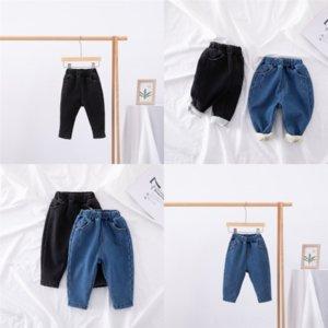 XZ7BM Джинсы Хэллоуин осень осень зимние самые милые джинсы Girlymax Детская одежда Boutique Держите добавить бархатную теплую глазурь утолщение ребенка одежду девушки