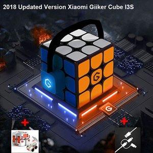 새로운 버전 Xiaomi Mijia Giiker i3s AI 지능형 슈퍼 큐브 스마트 마술 마그네틱 블루투스 앱 동기화 퍼즐 장난감 슈퍼 큐브 Y200428