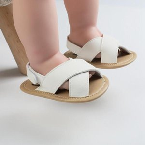 2020 New arrival Rome Style Leather Baby Boys Sandals Newborn Casual Hollow Sandals Shoes Soft Sole Breathable Toddler Footwear