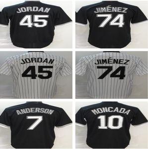 Özel Luis Robert Jersey Michael Kopech Eloy Jimenez Tim Anderson Yoan Moncada Jose Abreu Edwin Encarnacion Yasmani Grandal Beyzbol Forması