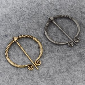 Viking age Ireland Norse pin for scarves shawls coat Cloak Brooch Pins Retro vintage jewelry for men women