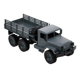 MN-77 1/16 Военный грузовик 2.4G 6WD внедорожный грузовик Высокоскоростной электромобиль Светодиодный свет RC Truck RC игрушки для детей взрослых RTR 201209