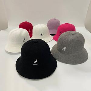 Kangol chapéu qualidade Terry pano balde chapéu 2020 novos homens fedoras feminino moda fisherman bonés para mulheres gorras lã balde chapéu f1208
