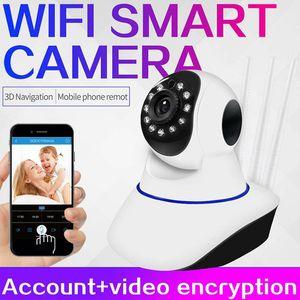 3pcs antenna HD WIFI Camera Wireless Remote monitor 1080P 720P Security Mini Video camera WIFI P2P CCTV Surveillance Camera Baby Monitor