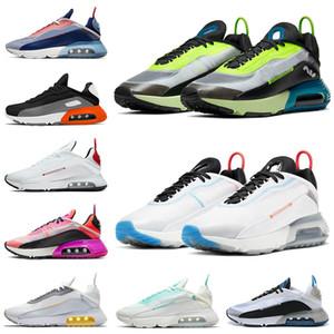 2021 En Kaliteli 2090 Koşu Ayakkabısı Erkek Bayan Tasarımcılar Için Yangın Pembe Ördek Camo Praia Grande Erkek Kadın Açık Trainer Sneakers Spor