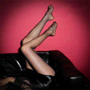 Women's Spandex Sheer Support Pantyhose Thin 3 Pairs Shaping Ballet Oil Socks Shiny Silk Stockings Pantyhose Dance Tights Black