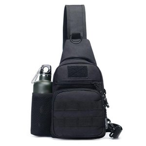 Outdoor Cycling Shoulder Bag Army Tactical Sling Backpack Camping Hiking Camouflage Chest Messenger Bag Hunting