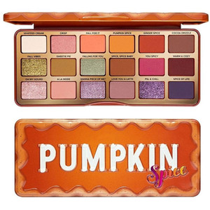 Hot makeup Newest Christmas Gift Pumpkin 18color Eyeshadow Palette Classic colors Spice Eye shadow High Quality