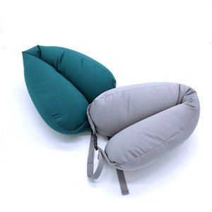 Polyester fabric travel Rest pillow neck pillows sleeping cushion U Shaped cushions headrest maternity pillows for car sleeping