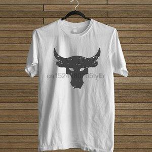 Dwayne Johnson Brahma Bull Tattoo Bianco Tee Designers T Shirt Uomo Graphic Hoodie