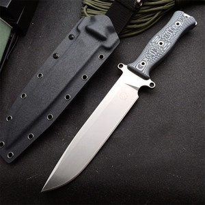 DC53 die steel heat treatment G10+ aluminum handle Gemini cavalry knives High hardness sharp dagger outdoor camping survival knife