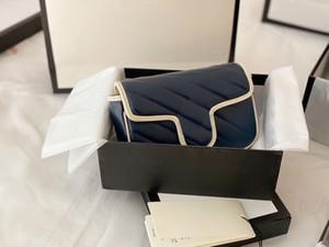Moda Omuz Çapraz Vücut Çanta Kadın Klasik Sıcak Satış Tasarımcı Çanta 2020 Retro Özel Desen En Kaliteli Popüler Metal Çanta