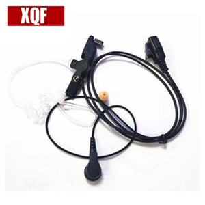 XQF Acoustic Air Tube Oreillette Casque Icom Radio IC-F30GS IC-F31GS IC-F40GT IC-F41GT