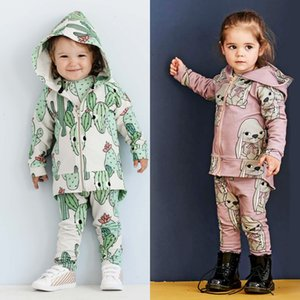 TinyPeople Rex rabbit Baby Boys Clothes Autumn Suits fashionable Baby Girl Hooded Sports clothing Sets kid winter infant 2-piece Y1113