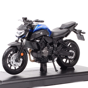 1 18 scale mini maisto yamaha MT-07 model motorcycle street bike thumbnails Diecasts & Toy Vehicles of kids boy Collectable Z1124