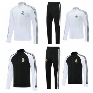 Top 2020 Real Madrid Soccer Jacket Modric Trainingsanzug 20 21 Hazard Chandal 2021 Asensio Isco Fussball Jersey Trainingsanzüge Sports tragen