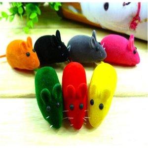 RAT Mouse Toy Shoot Sound Squeak Новый Маленький Играл Подарок для котенка Кошка Play 6 * 3 * 2.5см CCA6851 400 шт.