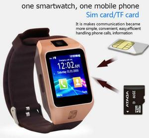 Melhor Moda Cheap DZ09 Andriod Smart Watch Telefone com Câmera SIM CART CHAMADA SmartWatch para Xiaomi para Huawei Android Phone PK GT08 A1 U8
