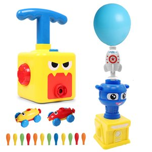 Balloon Launch Tower Toys Puzzle Education Education Polertia Power Balloons Car Science Experimen Toy Toy