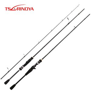 Tsurinoya Рыболовная удочка Mystery X-Crossed Carbon Fuji Guide Micro Bait Prot Rod L / UL Power Power 1.82M 1.98M Спиннинг