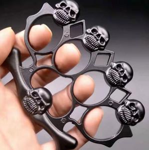 Fiberglass alloy finger tiger four-finger self-defense weapon Four-finger fist clasp iron four-finger hand support self-defense equipment852