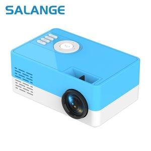 Salange J15 Mini Portable Projector Support 1080P Video Display Home Media Player Pocket Cinema Gift For Friends Kids 210609